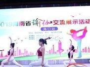 海南瑜伽交流展示活动海口举行 超15万人次观看图片直播
