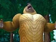 熊二我2块腹肌,光头强我8块,看到他你怕是来搞笑的吧