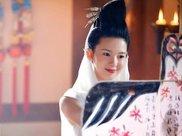 放风筝的古装女子,陈瑶很俏皮、霍思燕笑容纯真、万茜婉约动人