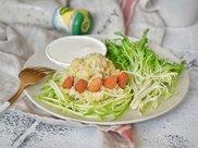 黄白双米沙拉—低脂代餐,健康减肥