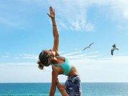 1组瑜伽动作,专消小肚腩,助你排出体内多余脂肪