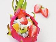 酸奶水果沙拉,清爽解腻,健康低脂,懒人的减肥好食谱。网友:这样瘦就对了