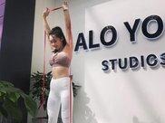 2个瑜伽动作练习, 高效燃脂瘦身, 瘦下来才知道自己有多美