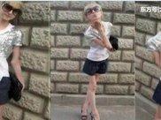 国外女孩减肥成瘾体重只有20公斤,现在的样子感觉一碰就碎掉了