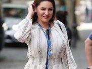 39岁女神放弃健身,体重飙升到130斤,呈现出微胖之美!