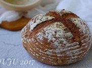 无油核桃全麦面包