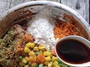时蔬鸡肉饼,很好吃的家常菜肴,减肥食谱,大开你的味蕾
