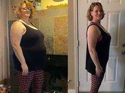 看到合影后发现自己是最胖的,48岁大妈开始减肥,2年减掉了106斤
