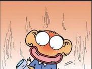搞笑漫画呆头亲自监督肉墩子减肥,可肉墩子还是有自己的办法