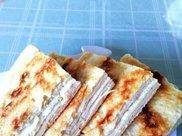 好吃的五香油酥饼,外皮酥脆,里面柔软,层次分明,油酥香味浓郁
