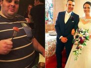 体重350斤的肥仔,减肥170斤后变成帅小伙,还娶了漂亮妻子