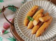 简单又美味,鸡肉玉米肠加点ta,全家人都抢着吃光!