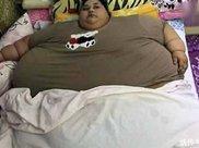 历史最重女胖子,乘坐吊车坐飞机,看见她的样子,我三天没吃饭