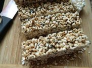 家中自制米花糖 一碗大米一碗糖 简单易学又好吃!