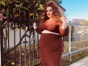 300斤健身大码肥模,腿粗如柱,腰粗如缸,体重是丈夫的2倍