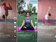 印度瑜伽爱好者用TikTok短视频教学 迎接第五个国际瑜伽日