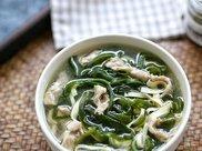 运动减肥,饮食辅助不可少,分享一道低脂汤做法,清淡爽口又美味