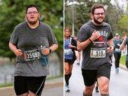 315斤男子计划跑步减肥,被告知膝盖会报废,1年后转变太惊艳