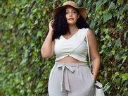 微胖女人看过来,夏天怎么穿才显瘦,建议避开这几个误区~