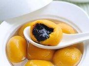 黑芝麻南瓜汤圆,见过的最好看的汤圆,学会了孩子每天吃
