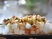 夏天晚餐来一碗豌豆凉粉,比凉皮好吃太多,做法简单一起来吧
