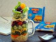1罐沙拉,14种食材,减肥餐也可以很美味,让你健康瘦下来