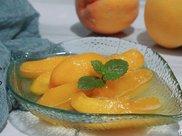 吃了20多年的黄桃罐头,才知道做法这么简单,1次做5斤不够吃