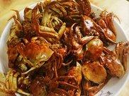 香辣河蟹如何炒才美味?5个窍门是关键,掌握了,酱咸辛辣肉鲜美