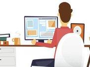 腰酸背痛太难受 怎样调节电脑桌椅减轻腰背疼痛