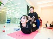 tika基因精准美容6D乐享瑜伽活动,《都挺好》女演员参与