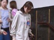 刘诗诗产后两次穿卫衣,前后体重相差十斤,为了复出狠减肥!