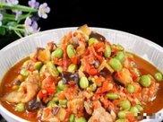 精选美食:毛豆炒肉片、腊肠炒包菜、家常炒面、胡萝卜烧牛肉做法