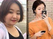 156斤的胖女孩为减肥,每天坚持跳绳,4个月甩掉56斤!