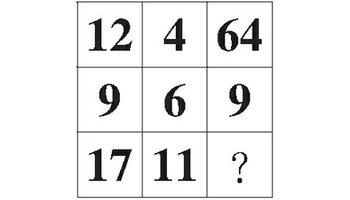 九宫格等于4_行测九宫格数字推理 九宫格数字推理