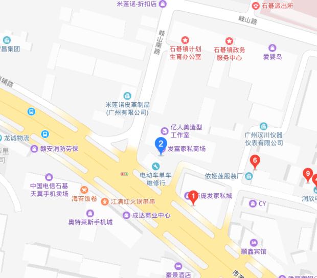 东莞横沥新圩下街在哪儿?