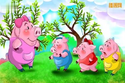 三只小豬的故事視頻 三只小豬蓋房子