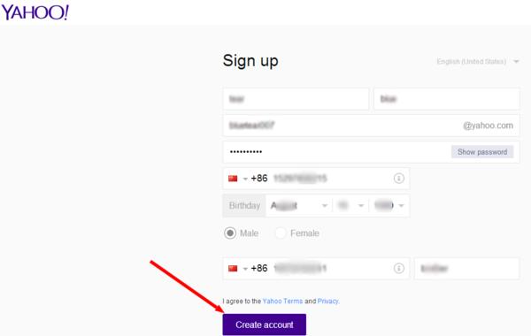 中国还可以注册雅虎邮箱吗?
