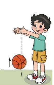 拿一个篮球从1m自由落下,看它反弹的高度是多少?反弹的高度是落下高度的几分之几?