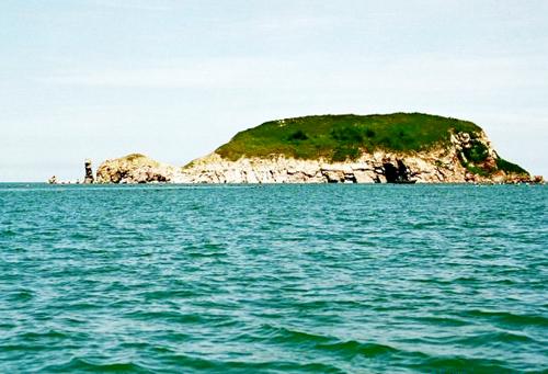 是烟台市著名的海上风景区