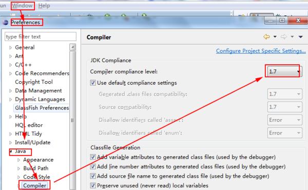 Eclipse中如何查看使用的JDK版本?
