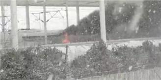 京沪高铁发生火灾现场 - 草根花农 - 得之淡然、失之泰然、顺其自然、争其必然