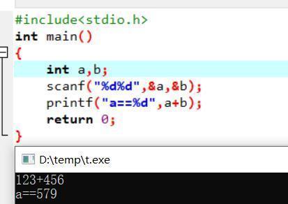 C语言语法错误