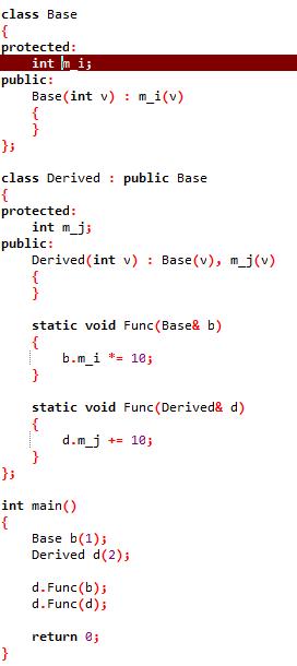 c++类静态函数为什么不能访问参数中父类引用