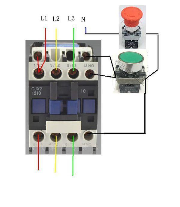 熱繼電器控制交流器_壓力表控制交流接觸器_接觸聯鎖控制電動機正反轉電路圖