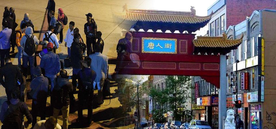 30万华人集体撤离唐人街,美国究竟发生了什么?