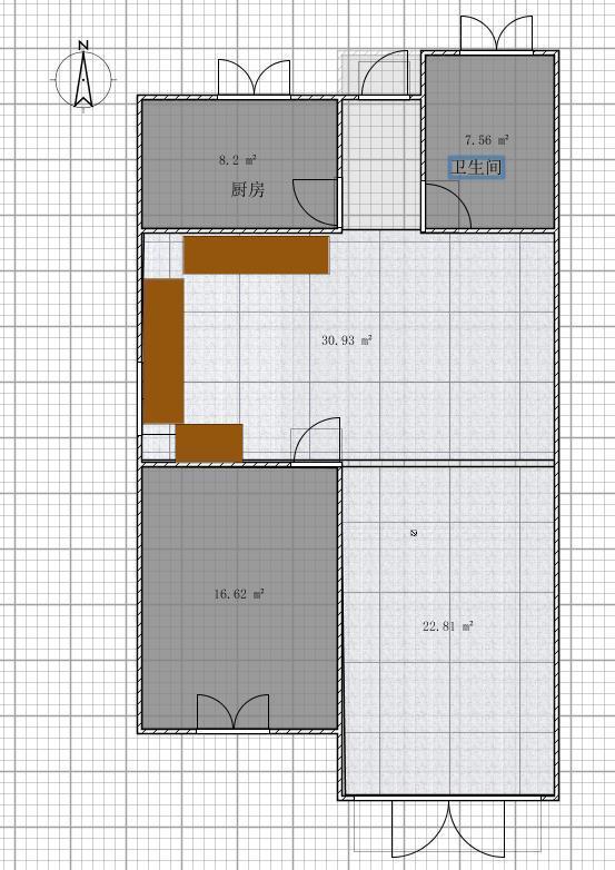 农村占地100平米3层别墅 求设计