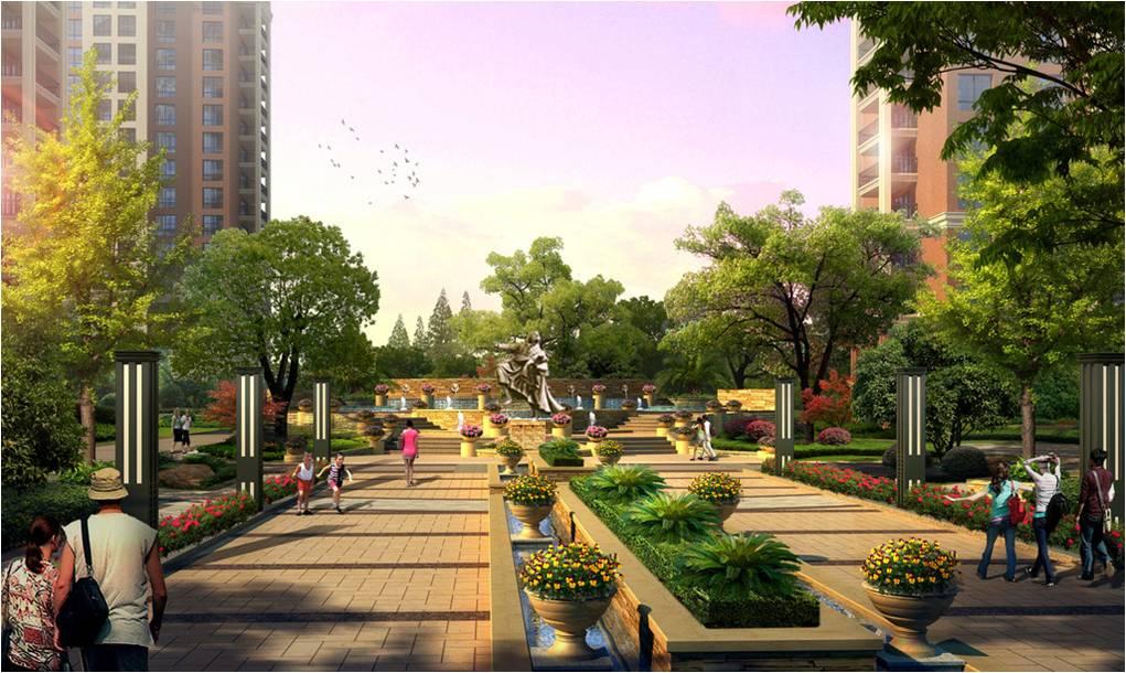 公园入口广场设计图展示