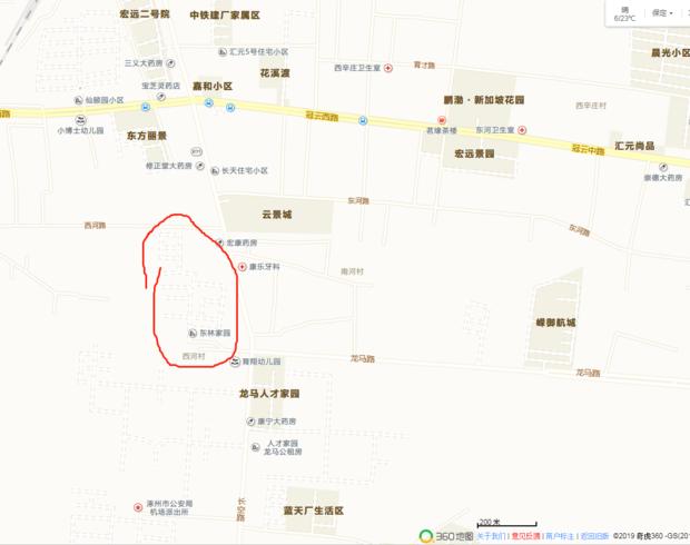 360地图为什么小区是这样?