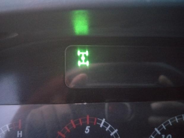 福田欧曼车仪表盘上这个指示灯亮是怎么回事