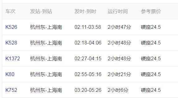 从浙江做高铁多长时间到上海?